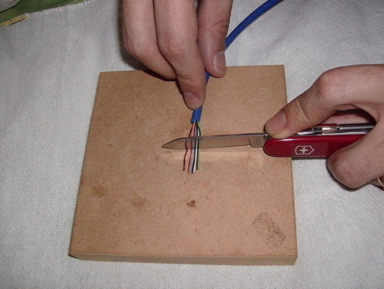 Step Three: Cutting the Strings
