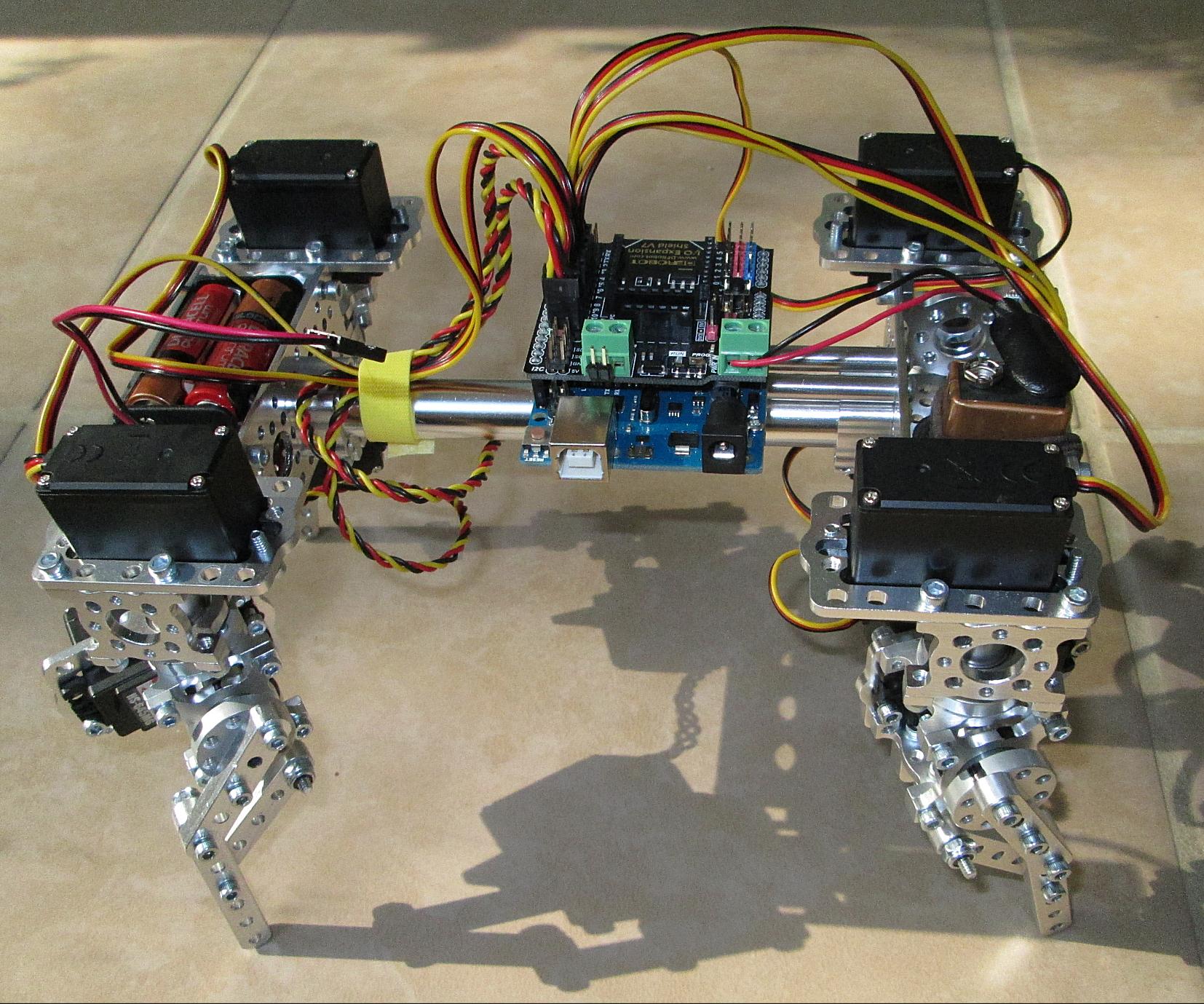 Build an Actobotics Quadruped Robot