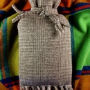 Lovely hot waterbottle cover from an old woollen scarf