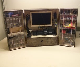 The Triptych - a Portable Arduino Workshop