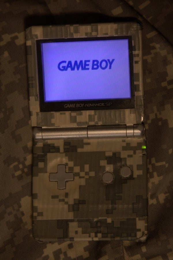 Duck (Duct) Tape GameBoy Cover