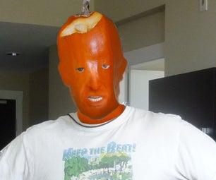 A Virtual Pumpkin Makeup Job Using Photofuser