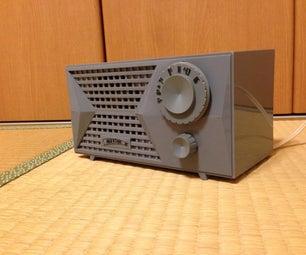 Bluetooth真空管ラジオ 4