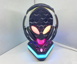 Alien - Area 51 RGB Headphone Stand