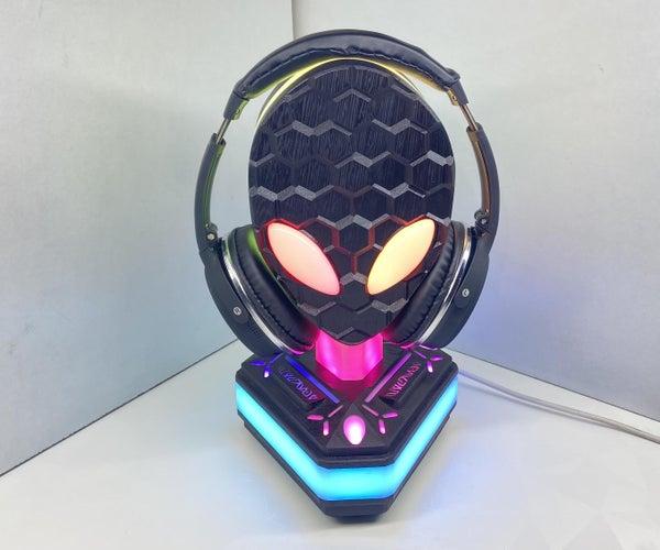 外星人 - 面积51 RGB耳机支架