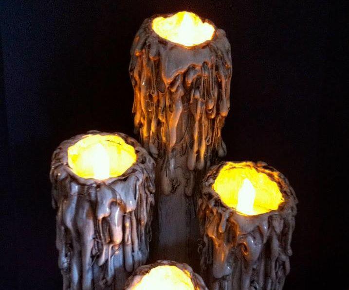 Halloween Flameless Candles