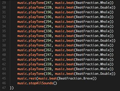 Programming the Music