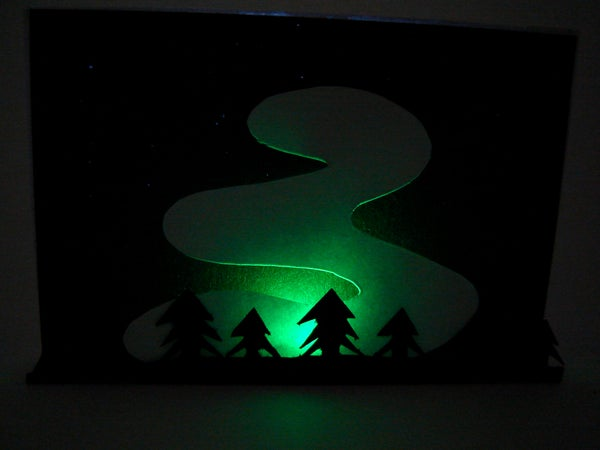 Northern Lights Papercraft