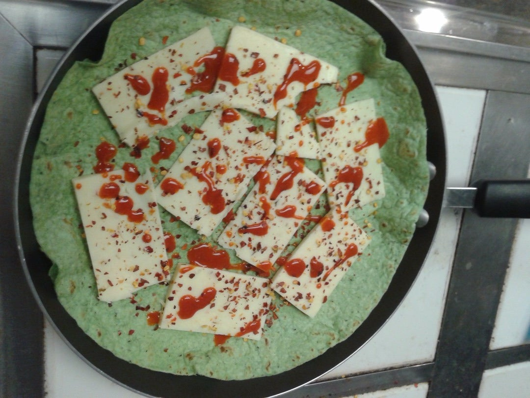 Lay Down Your Cheese, Pepper Flakes, and Hot Sauce