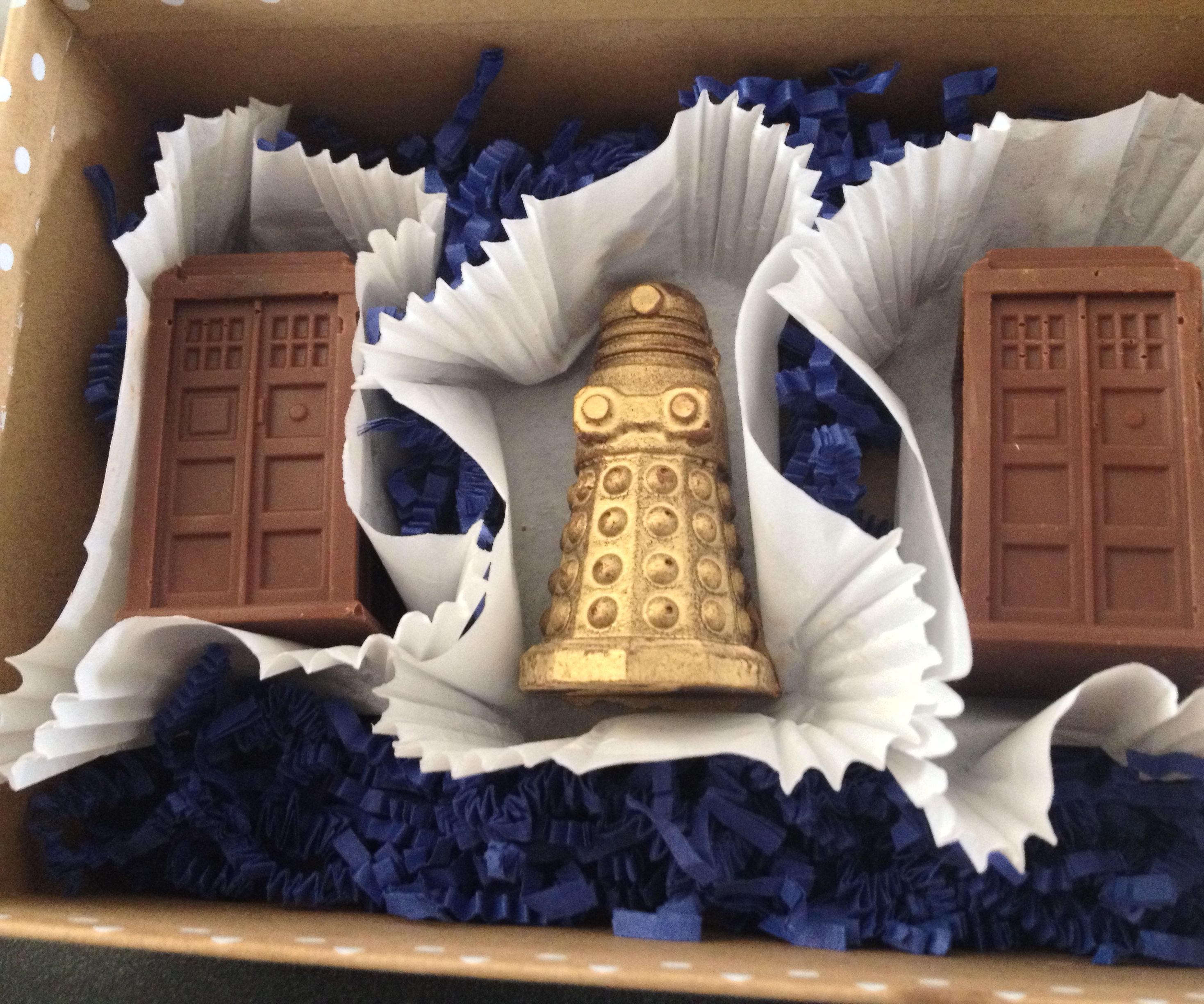 Doctor Who Chocolate Candies