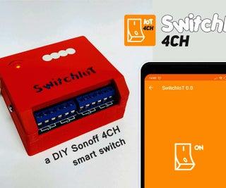 Make a Cheapest DIY Sonoff 4CH