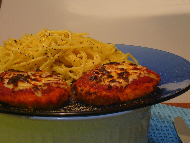 [Collegiate Meals] Pseudo Chicken Parmesan