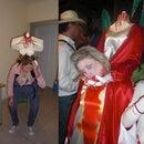 Maria Antonieta Decapitada Headless Costume SIN cabeza DISFRAZ tenerife original