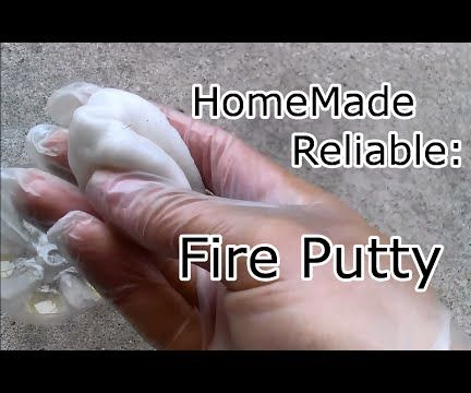 How To Make a Survival Fire Putty