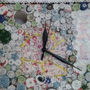 Rolled Paper Clock