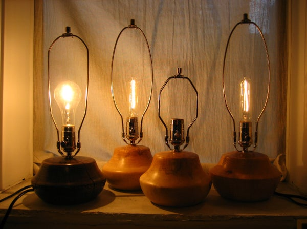 How to Wire a Turned Wooden Lamp