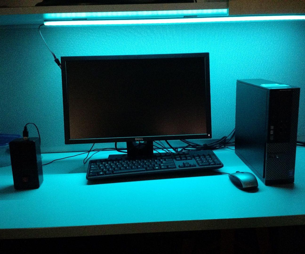 Convert Broken Desk Lamp to RGB LED