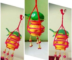 Newspaper Wall Hanging | DIY Kalash Wall/Door Hanging | Traditional Wall Hanging | DIY CraftsLane