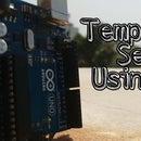 DIY Temperature Sensor Using Arduino and LM 35 Simple