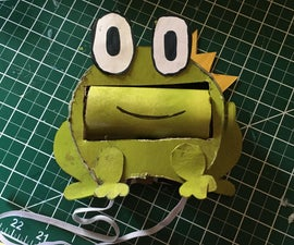 Changing Expression Frog Hat