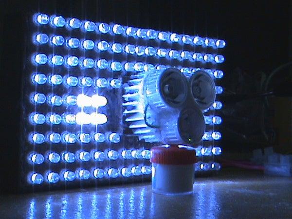 DIY Full LED 600+ Lumens LED Headlight.