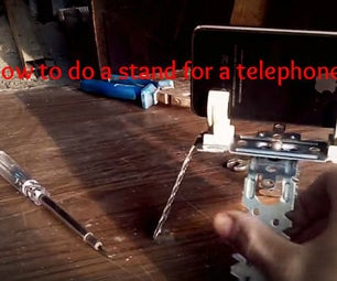 How to Do a Stand for a Telephone