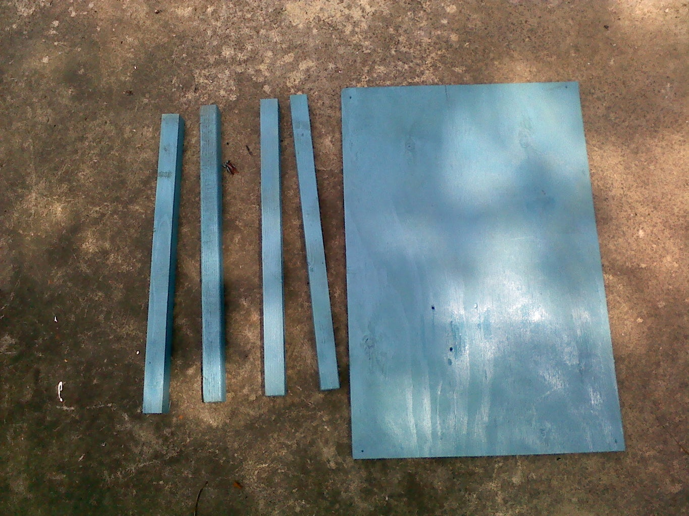Cutting the Boards for Generator Stand and Table