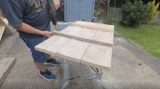 Step 2:  Build the Back Support