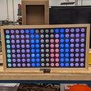 Interactive Ping Pong Pixel Board