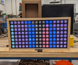 Interactive Ping Pong Pixel Board