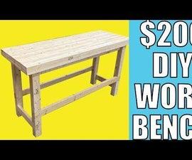 DIY Heavy Duty Workbench