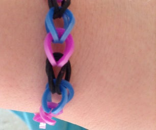 Single Rainbow Loom Braclet