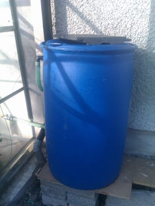 Water Butt Barrel Style Makeover
