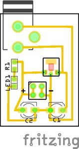 9V to 5V Regulated Power Supply - SMD