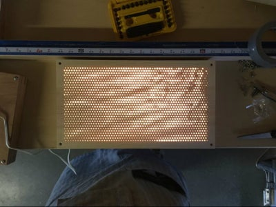 """Water"" Light Panel Box Construction"