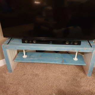 Industrial & Rustic Media Console