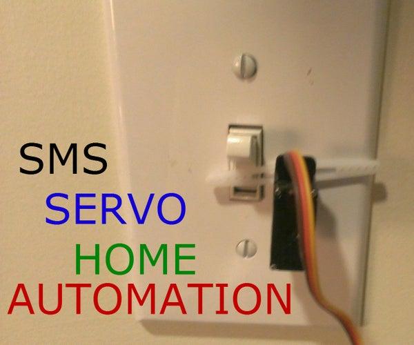 Servo Controlled LightSwitch