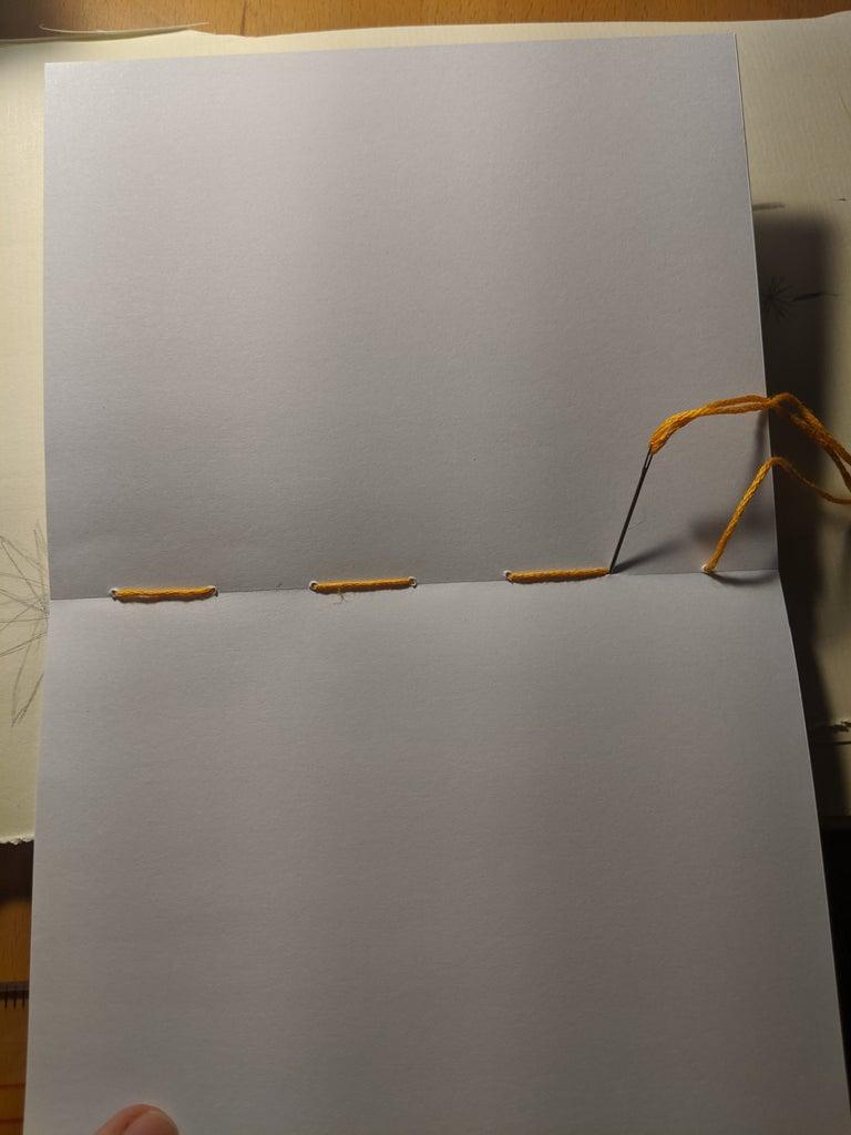 Step Five: Bind Booklets