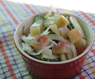 Watermelon Rind Pickle Salad