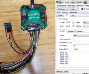 How to Use the Protocol Analyzer on the Discovery to Test Sensors