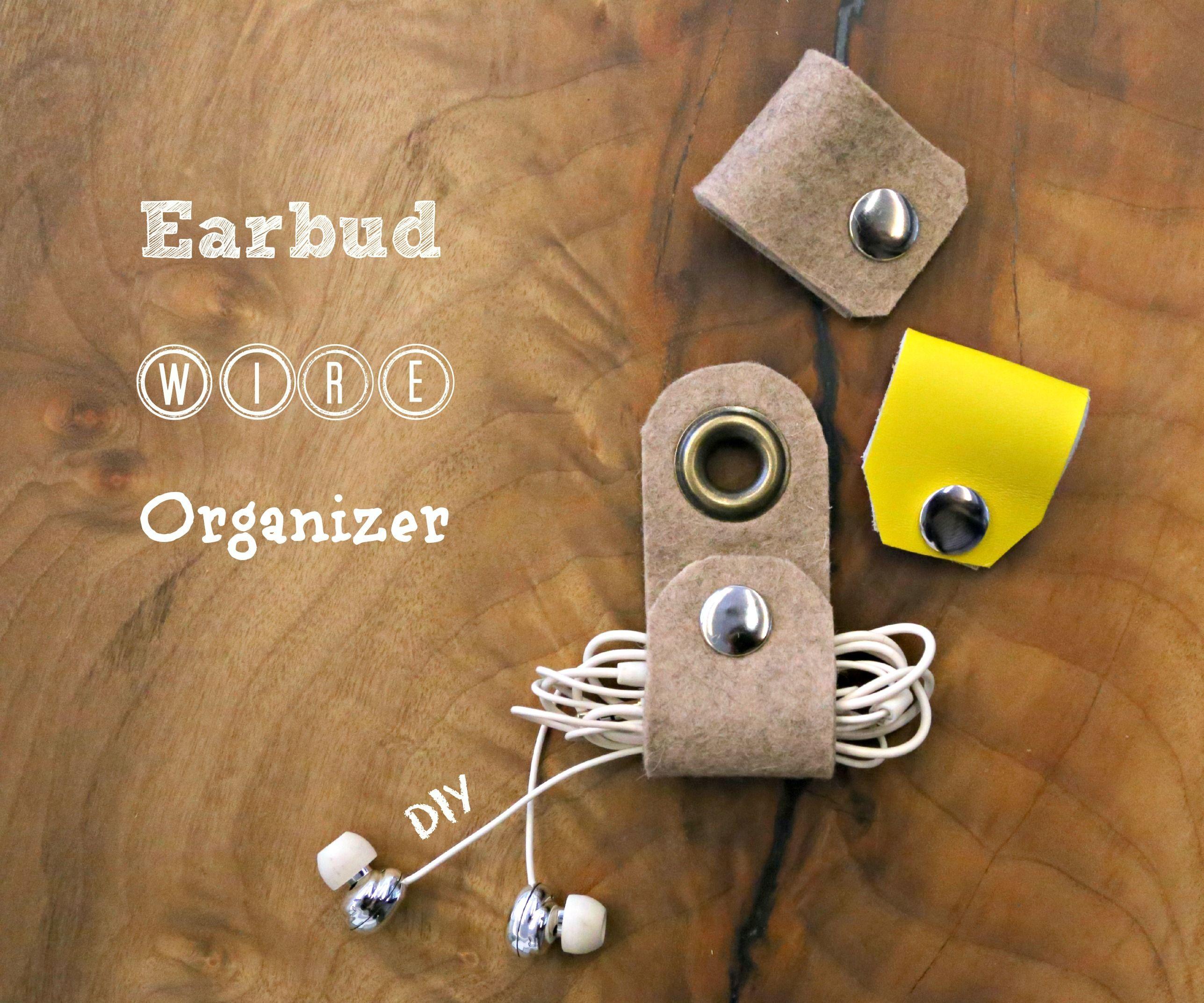 Earbud Wire Organizer