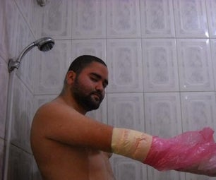 How to Take a SHOWER With a Orthopedic Cast