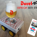 DuvelBot - ESP32-CAM Beer Serving Robot