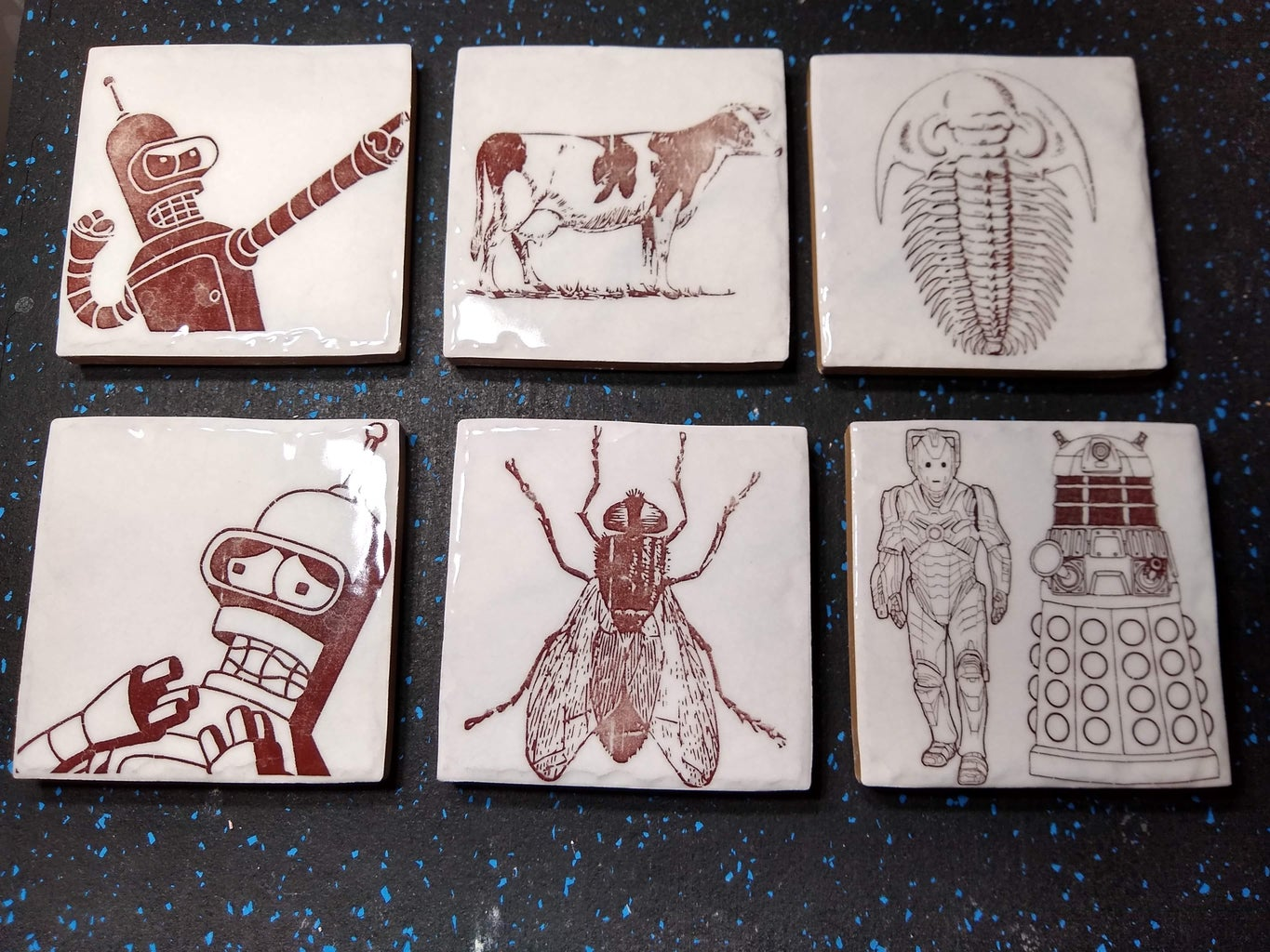 DIY Ceramic Decals From Your Laser Printer (Update: and Magnetic Tape)