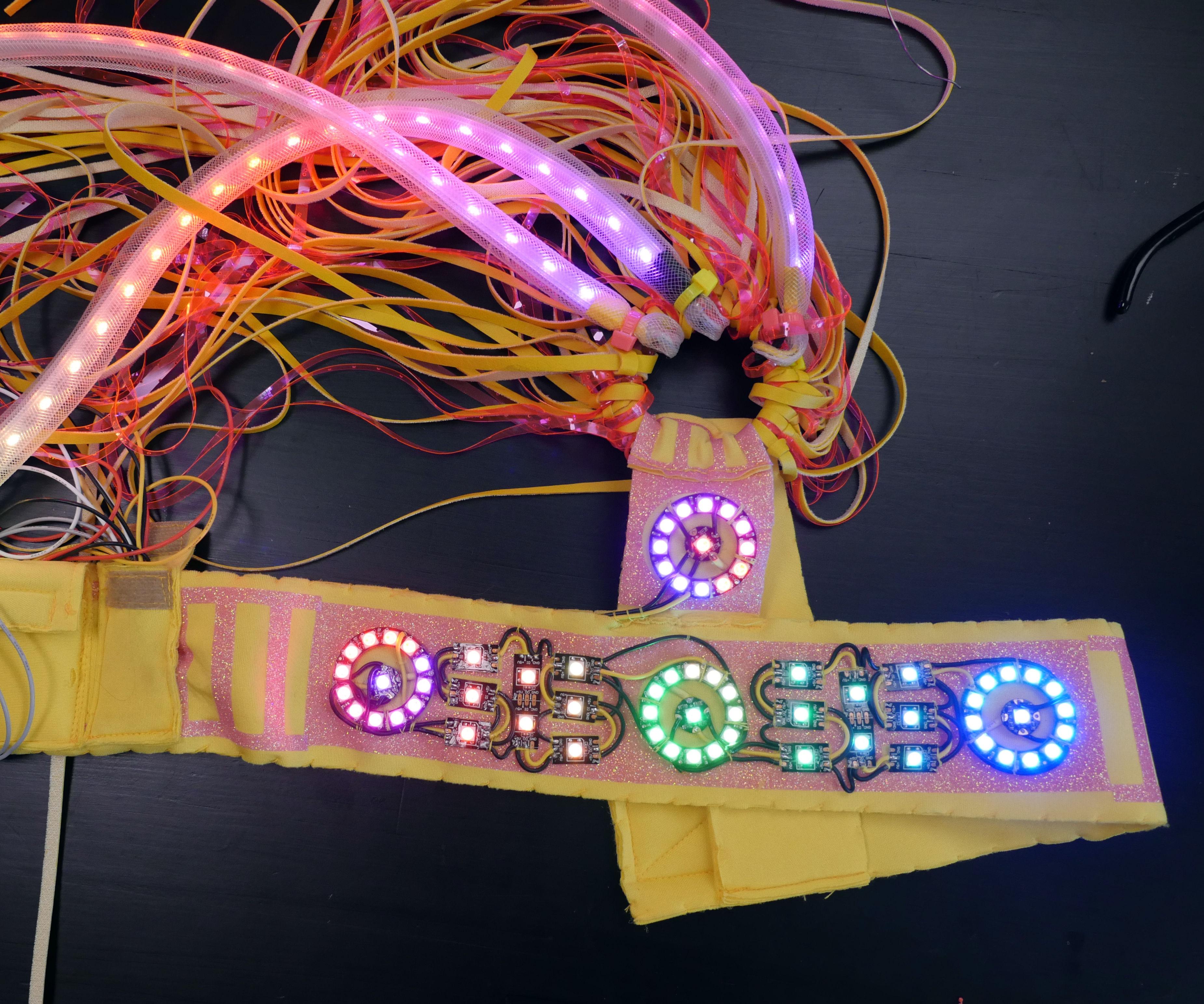 Pharos LED Headpiece