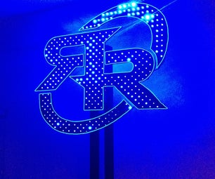RGB LED Sculpture