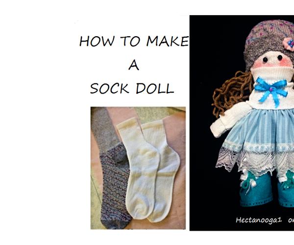 Easy Sock Doll