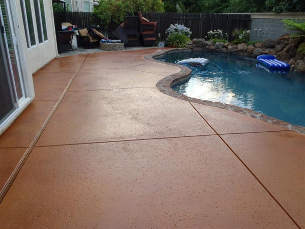 How to Apply Multi-color Concrete Stain