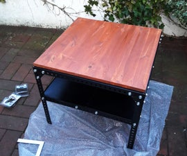 Industrial Table (easy, Detailed Instruction)