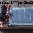 DIY Solar Battery Charger